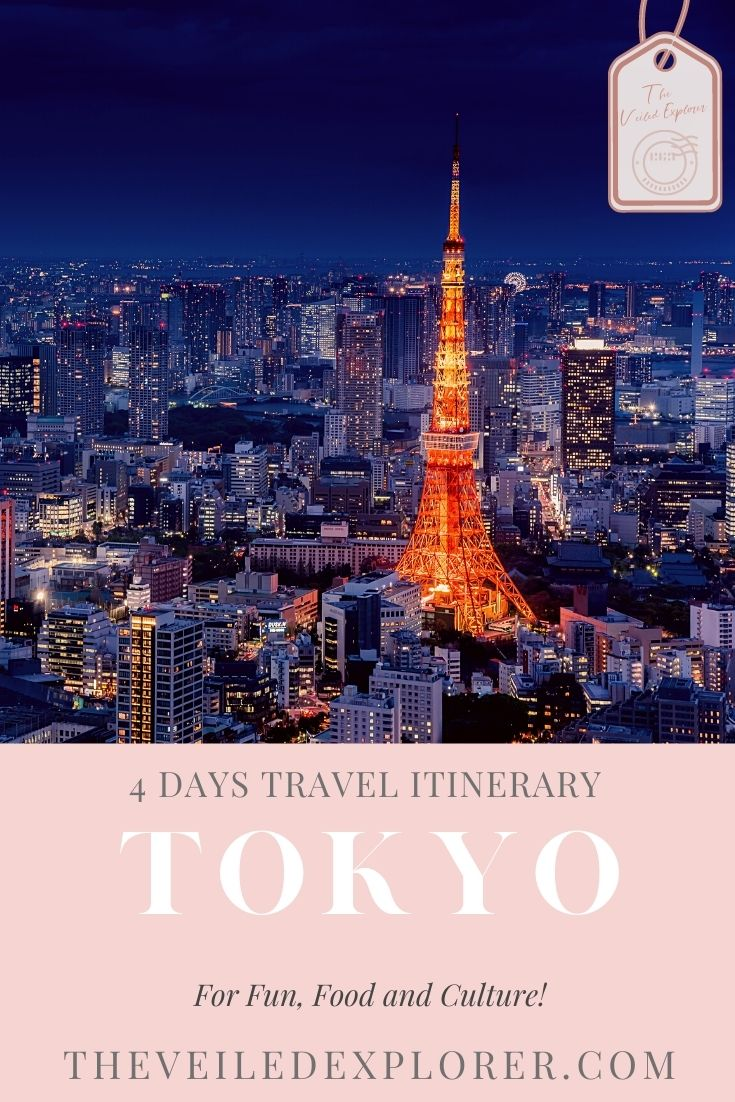 Ultimate 4 Fun Happy Days In Tokyo Itinerary